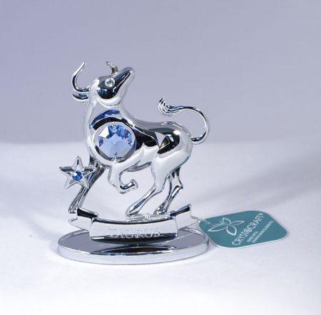 Bika figura Swarovski kristállyal