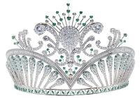 A szépségkirálynő koronája