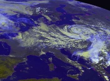 Ciklon Európa fölött