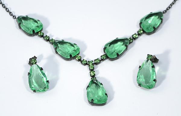 Shiny stone garnitúra - zöld