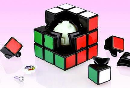 Az új Rubik kocka belseje