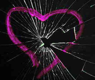 Törhető szív medál