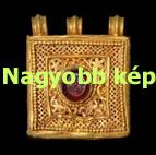 Relikvia tartó medál - opus interrasile