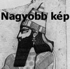 Asszír férfi korabeli rajzon